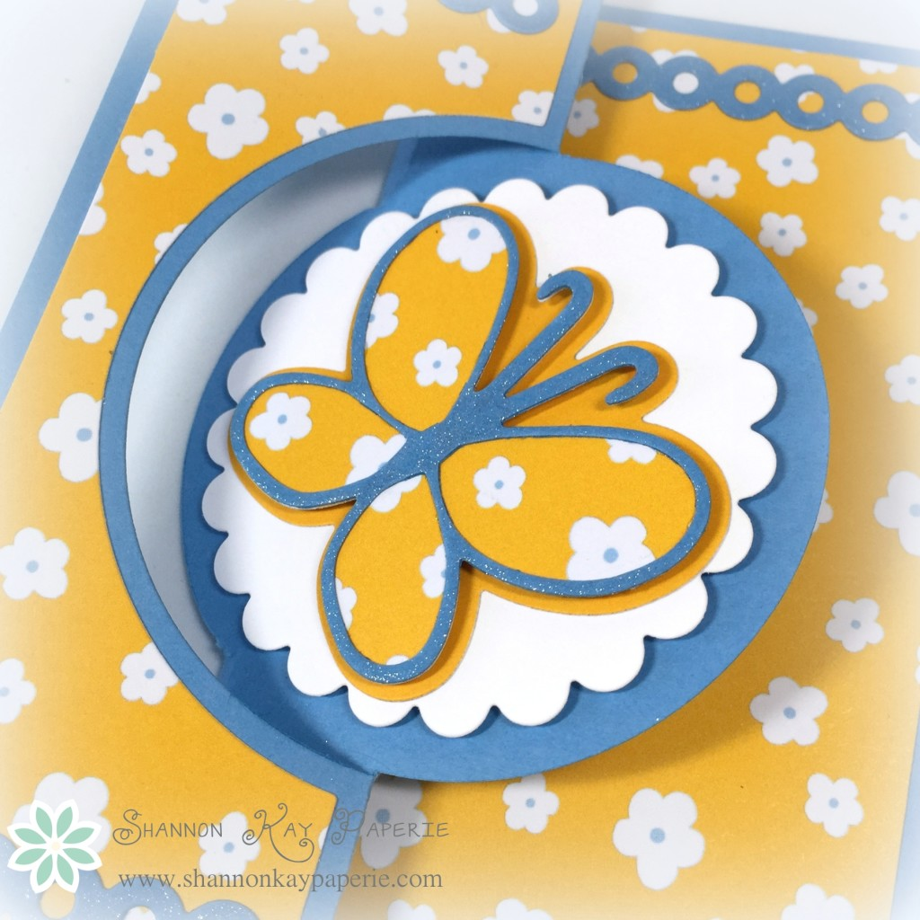 Butterfly Birthday - The Paper Players 247g
