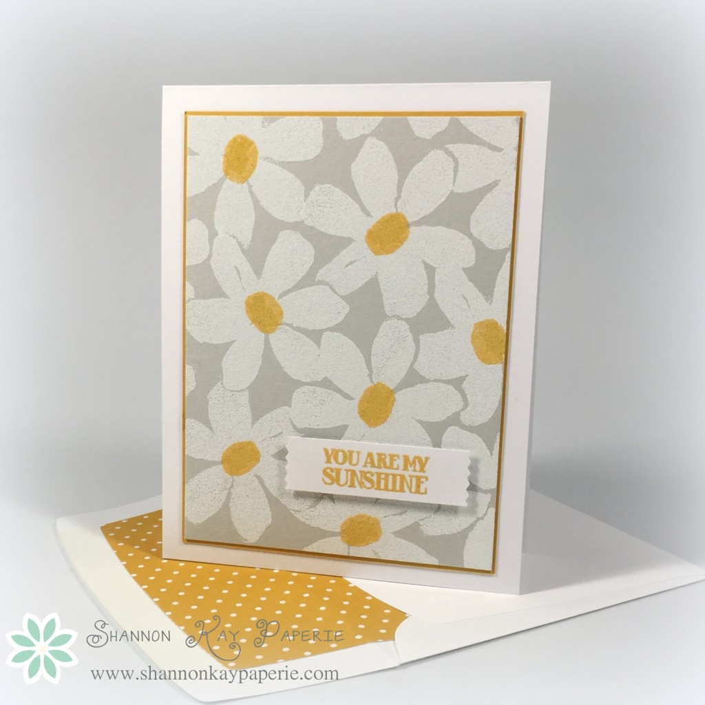 You Are My Sunshine - Card Concept 38b