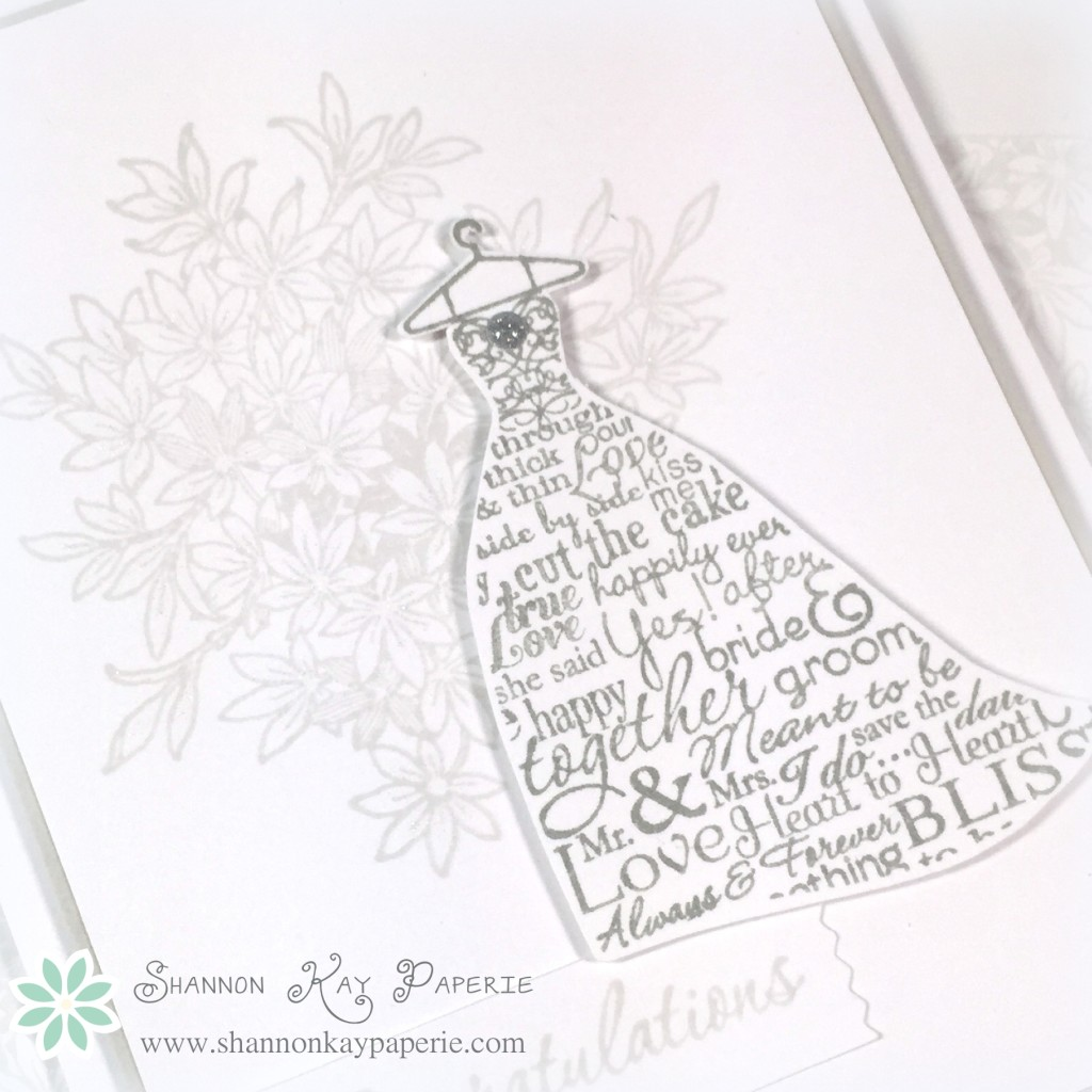 Soft and Romantic Congrats - Sunday Stamps 105 & FMS 194