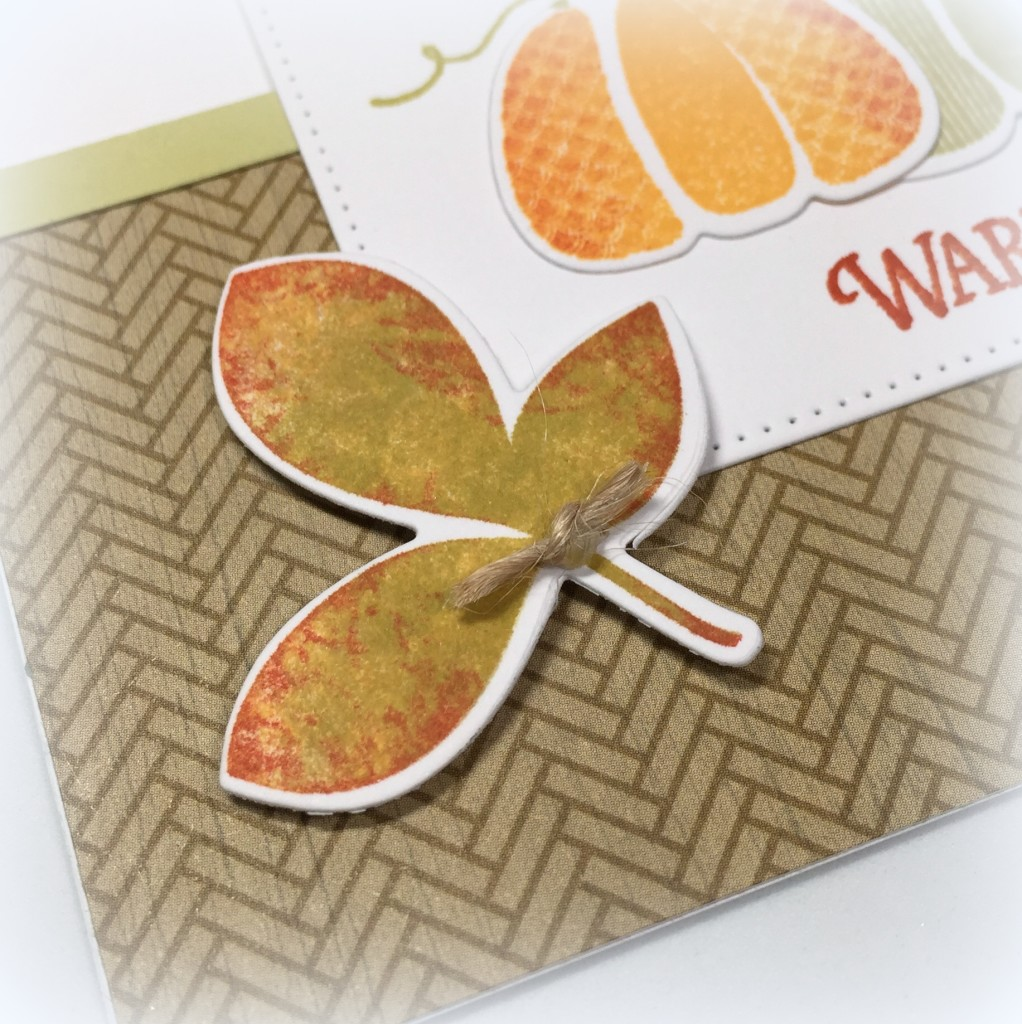 Warm Autumn Wishes - Fusion Card Challenge