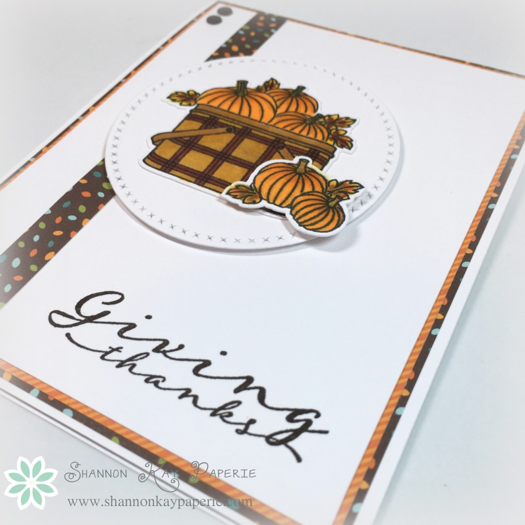Giving Thanks – Freshly Made Sketches 208