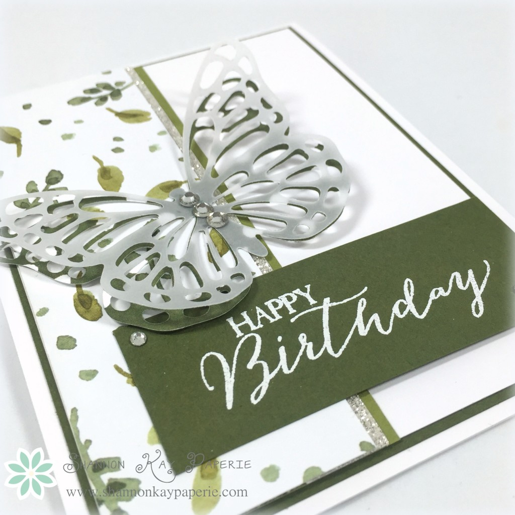 Sweet Butterfly Birthday - Sunday Stamps 114