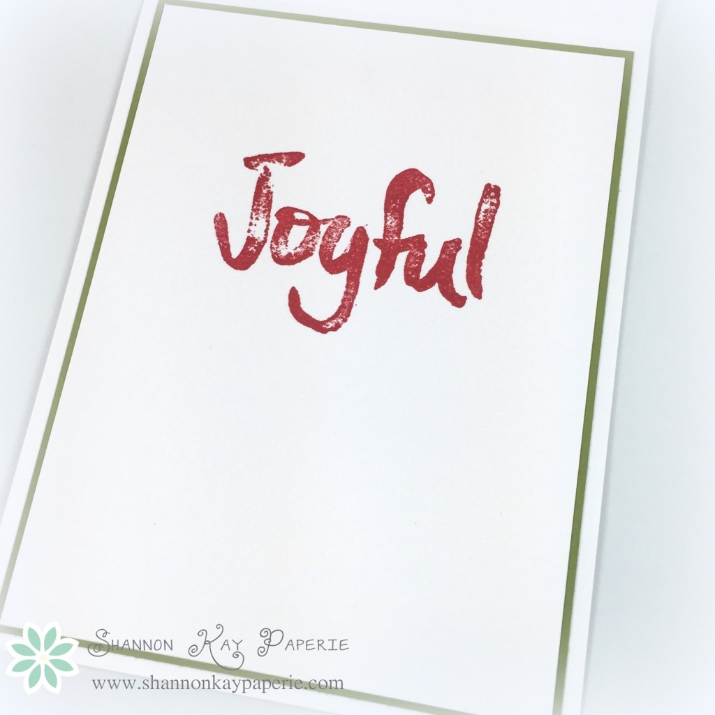 Joyful Season - The Paper Players & Sweet Sunday Sketch