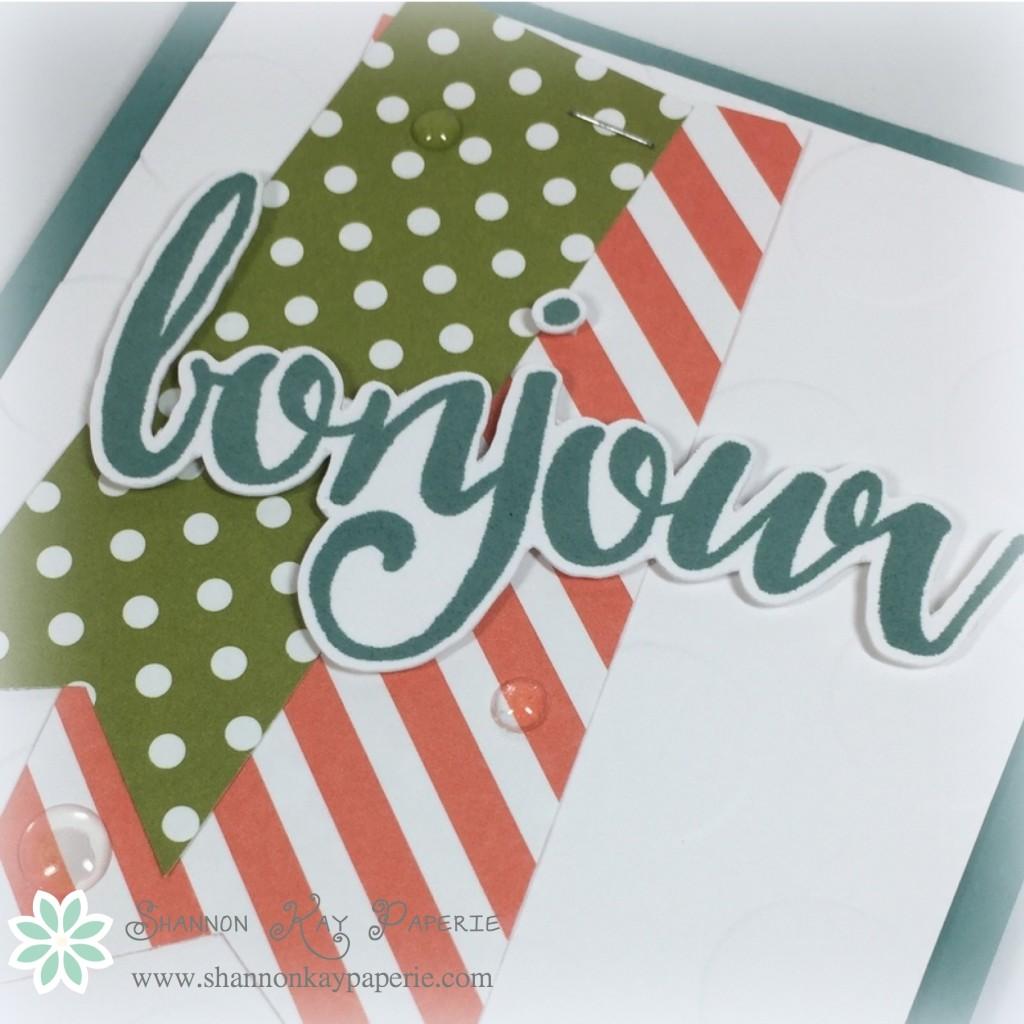 Bonjour! - Sunday Stamps 120 & PPA287