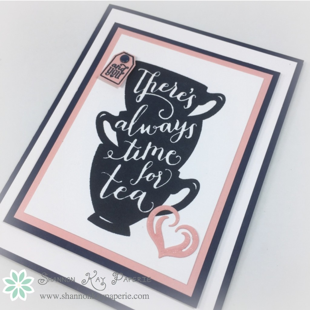 Time for tea - 30 Day Card Challenge, Day 7