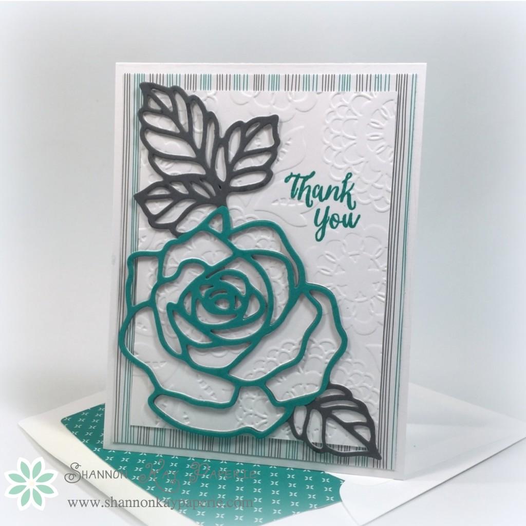 Rose Wonder - 30 Day Card Challenge, Day 9