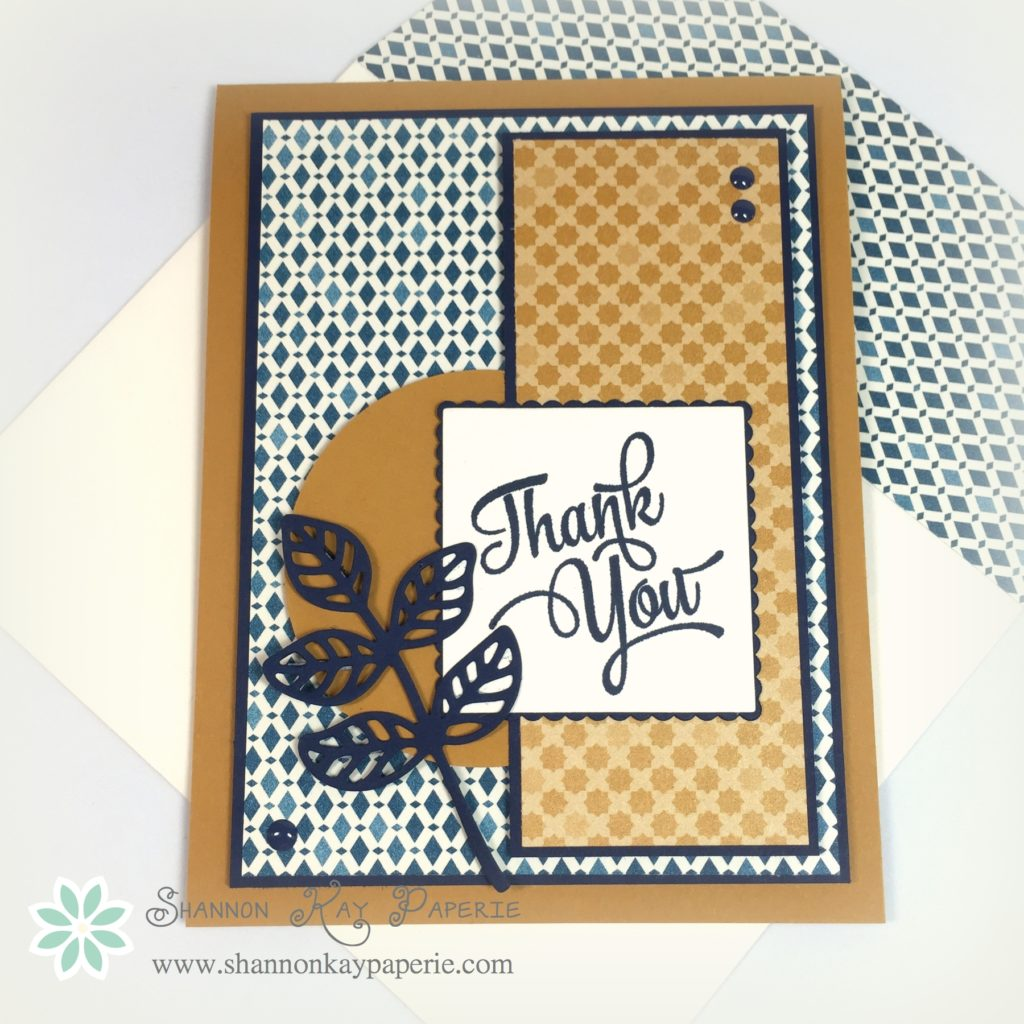Stampin' Up!'s New Moroccan DSP is a Dream!