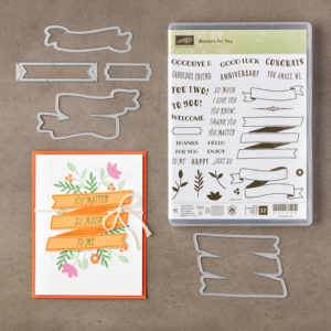 Stampin Up Banners for Yiou Bundle Card Ideas - Shannon Jaramillo -Stampinup