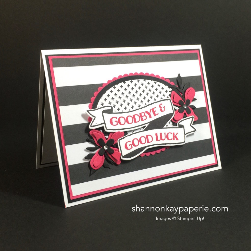 Stampin Up Banners for You Card Idea - Shannon Jaramillo Stampinup