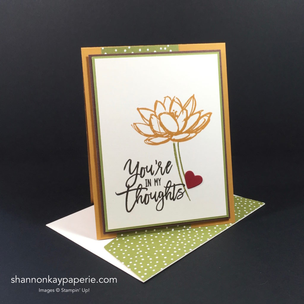 Stampin' Up! Remarkable You More Thinking of You Card Ideas - Shannon Jaramillo Stampinup