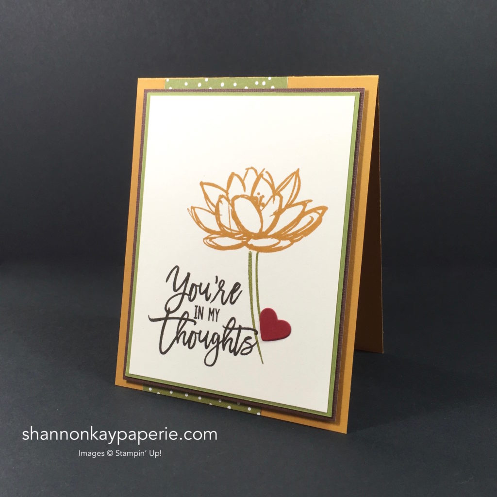 Stampin' Up! Remarkable You More Thinking of You Cards - Shannon Jaramillo Stampinup