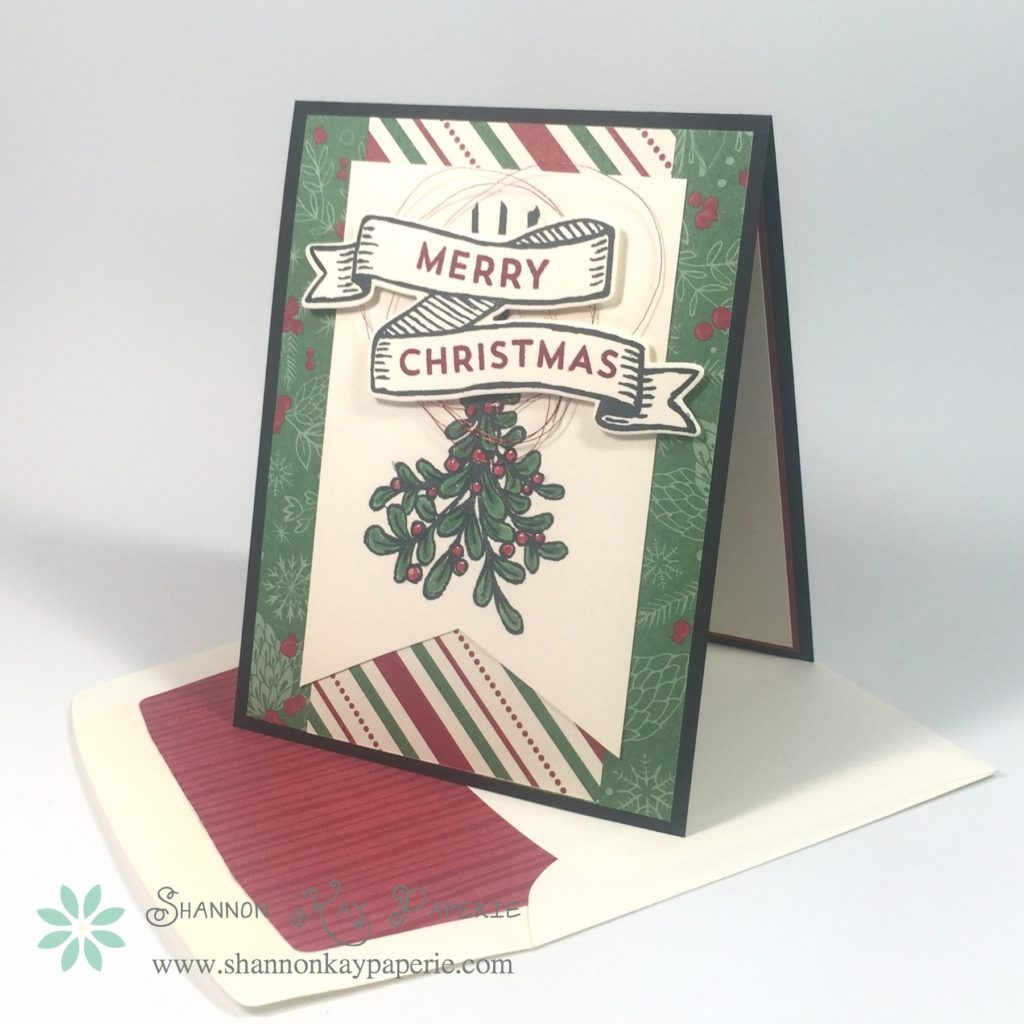 Stampin Up Banners for Christmas Card Ideas - Shannon Jaramillo Stampinup