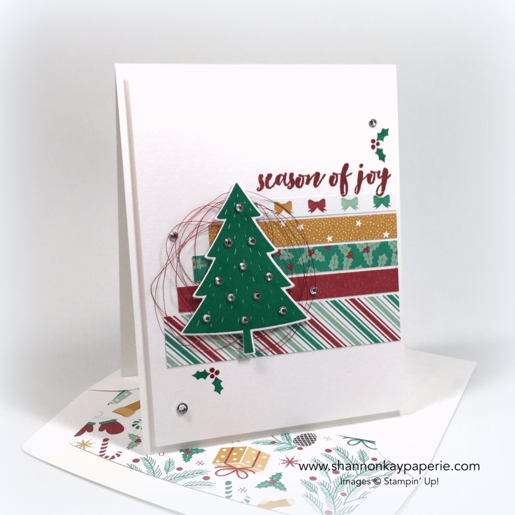 Stampin Up Christmas Pine Christmas Card Ideas - Shannon Jaramillo Stampinup