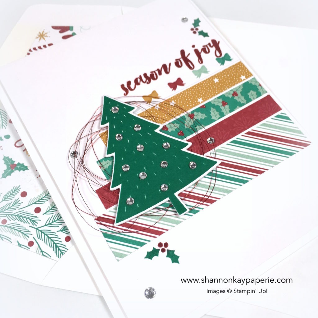 Stampin Up Christmas Pine Christmas Cards Ideas - Shannon Jaramillo Stampinup