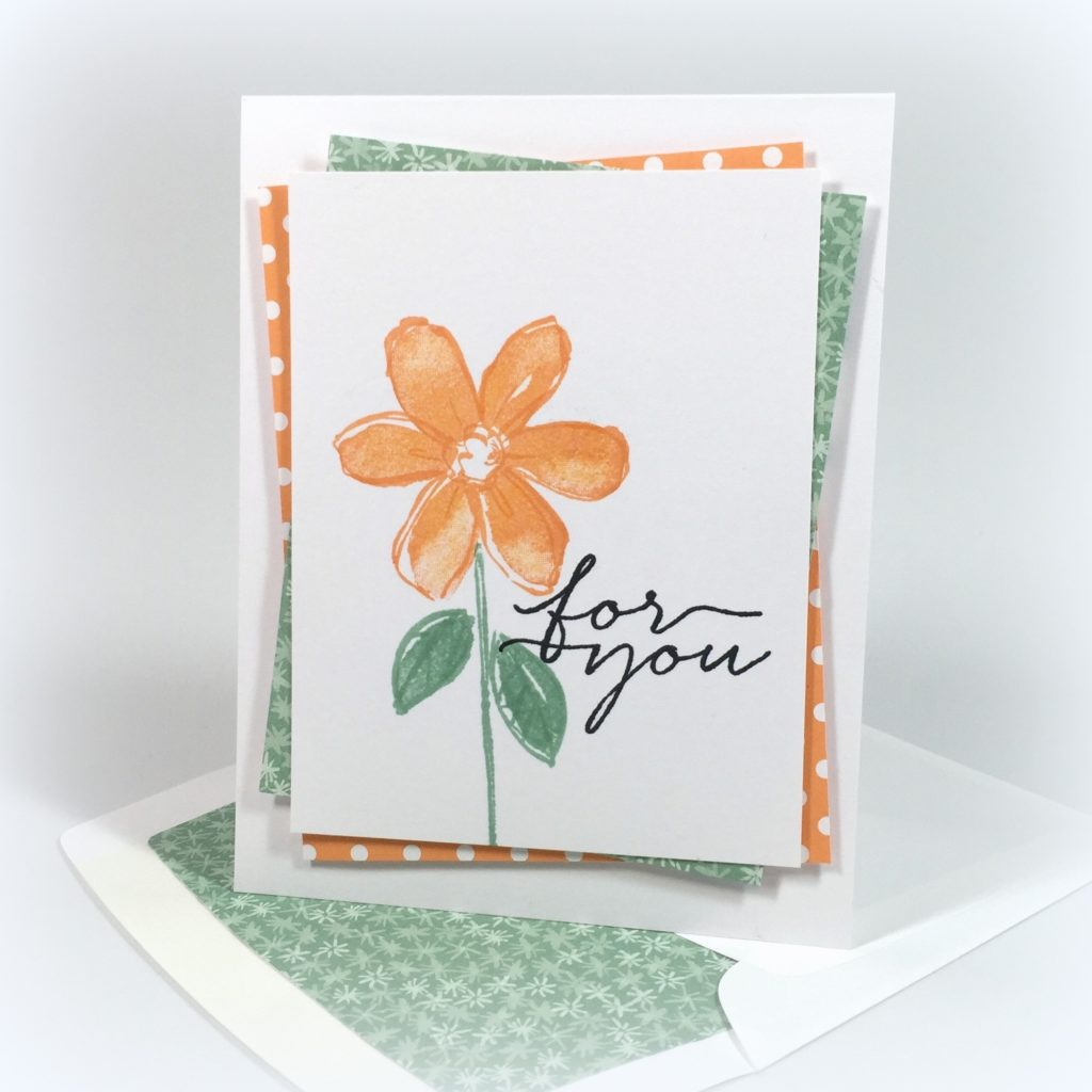 Stampin Up Garden in Bloom Just Because Card Ideas - Shannon Jaramillo Stampinup