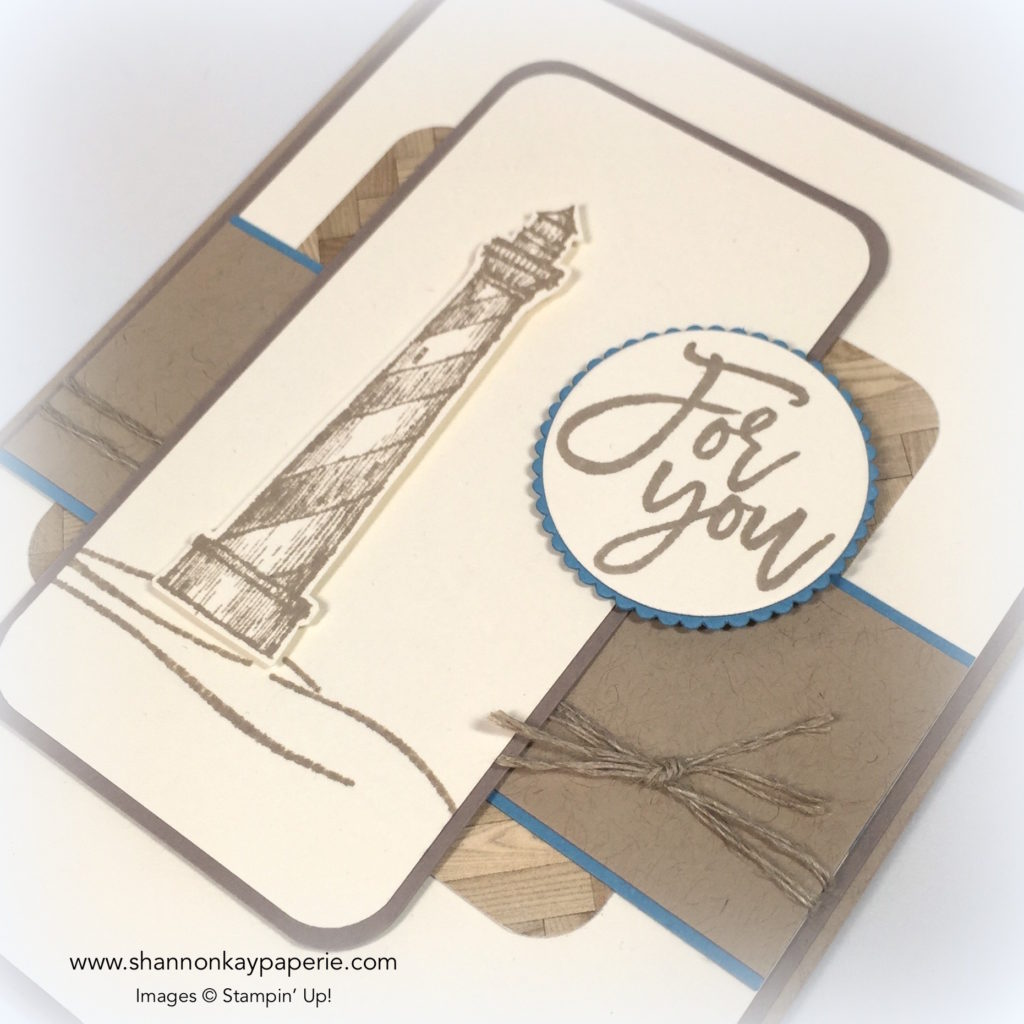 Stampin Up Masculine Land to Sea Card Ideas - Shannon Jaramillo Stampinup
