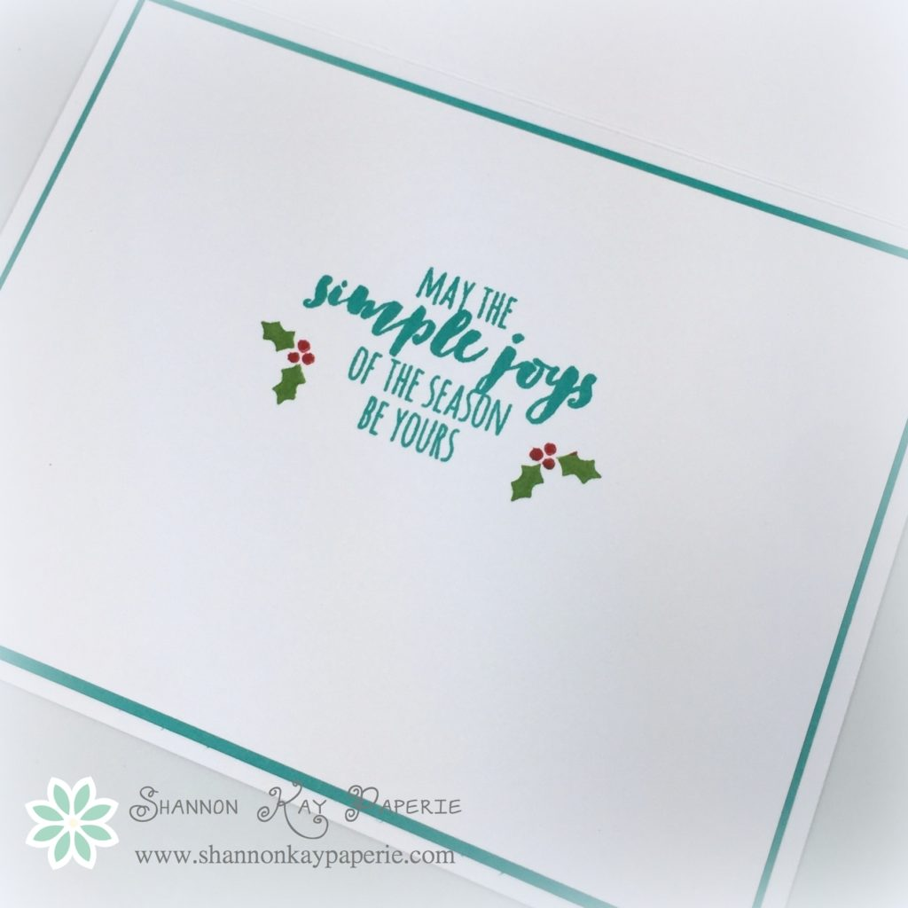 Stampin Up Modern Christmas Card Ideas 4- Shannon Jaramillo Stampinup