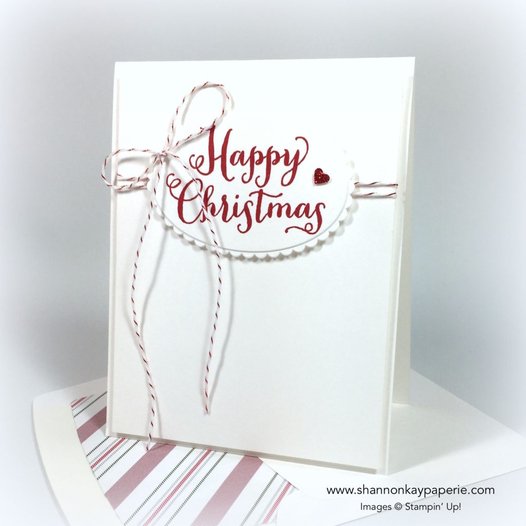 Stampin Up Oh What Fun Card Ideas - Shannon Jaramillo Stampinup