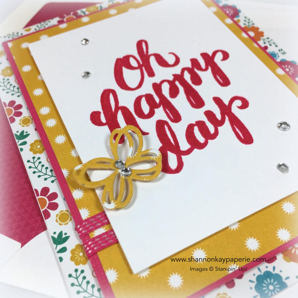 Stampin Up Scenic Sayings Celebration Cards Ideas - Shannon Jaramillo Stampinup