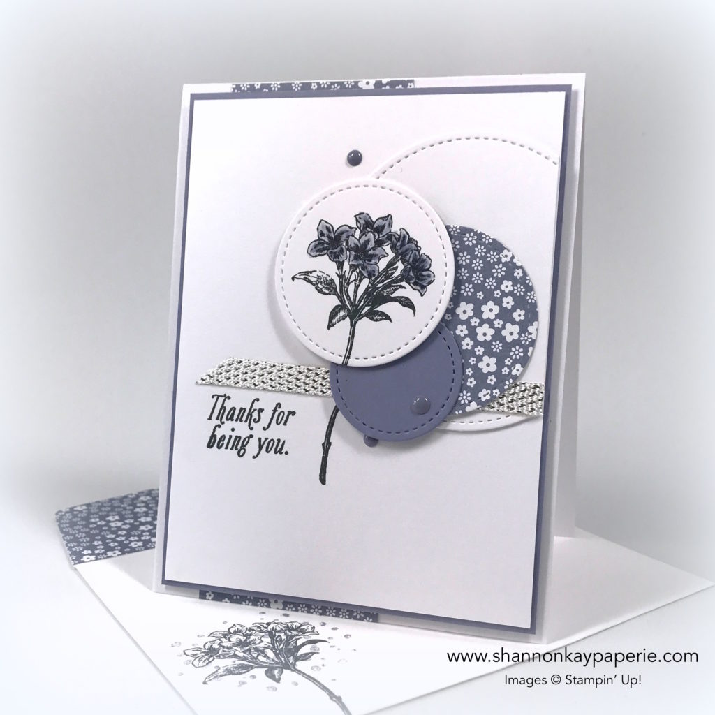 Sweet Avant-Garden Thank You Card Ideas - Shannon Jaramillo Stampin Up