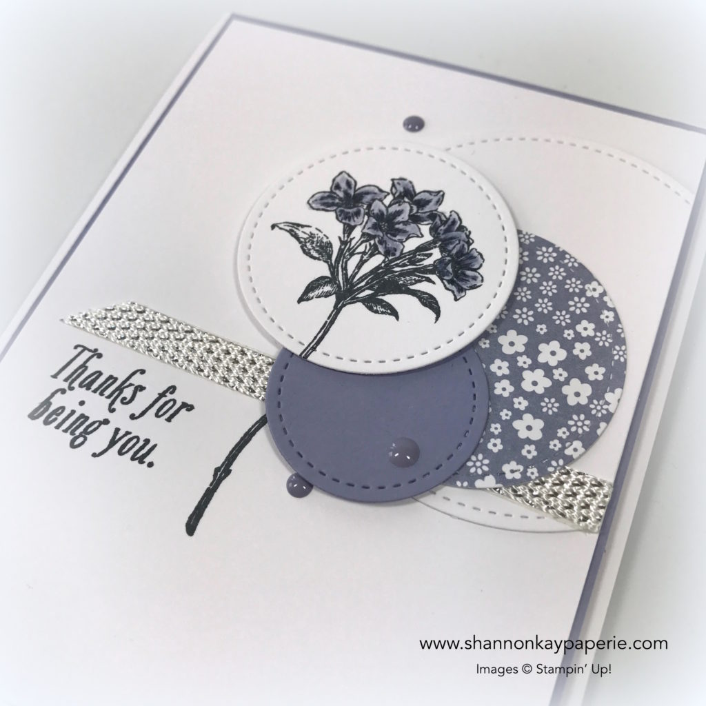 Sweet Avant-Garden Thank You Cards Ideas - Shannon Jaramillo Stampin Up