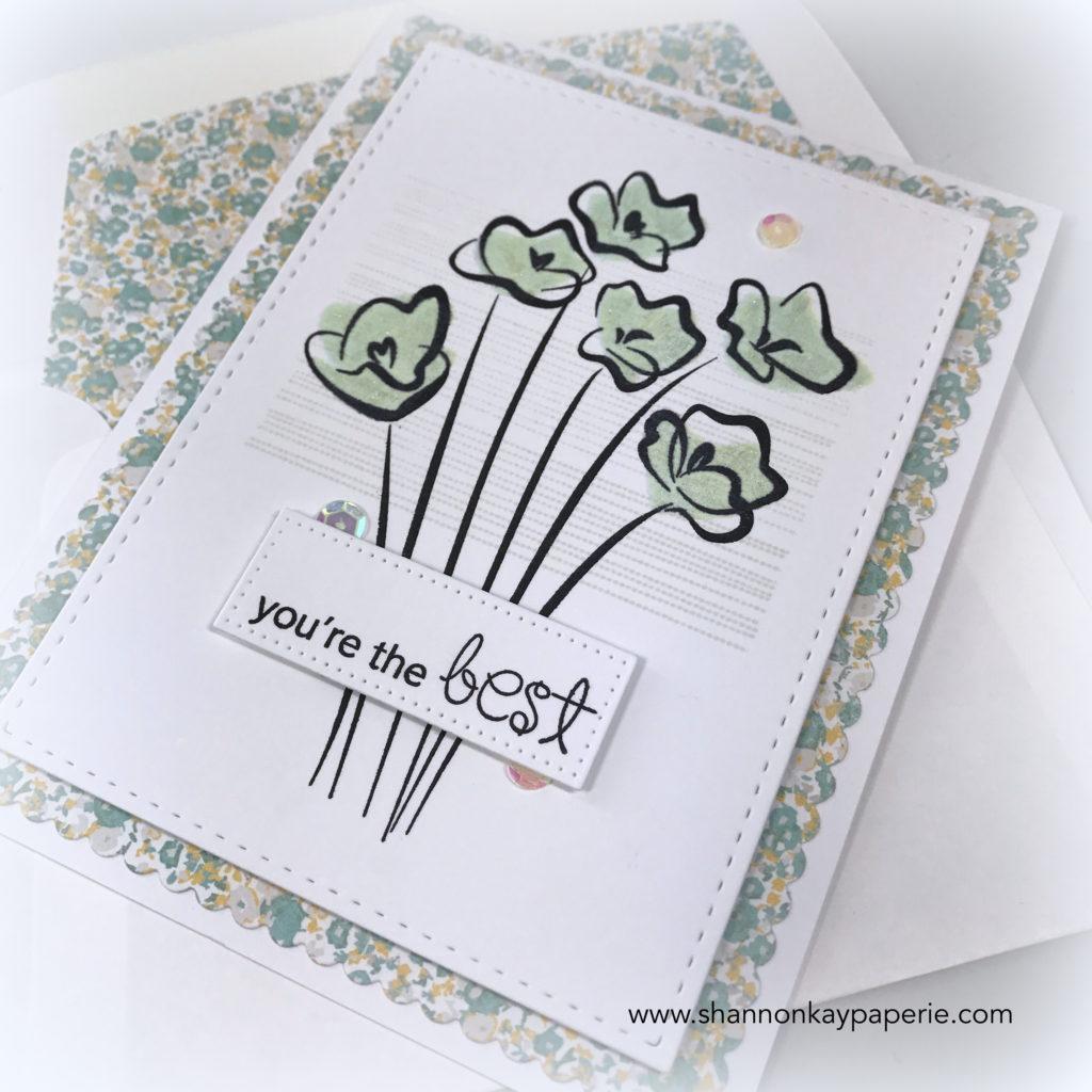 Bloomin' Buttercups Cards Idea - Shannon Jaramillo
