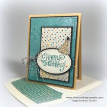Whimsical Birthday Wishes Birthday Card Idea - Shannon Jaramillo Stampin Up