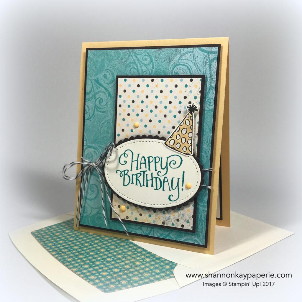Whimsical Birthday Wishes Birthday Card Idea - Shannon Jaramillo Stampin Up