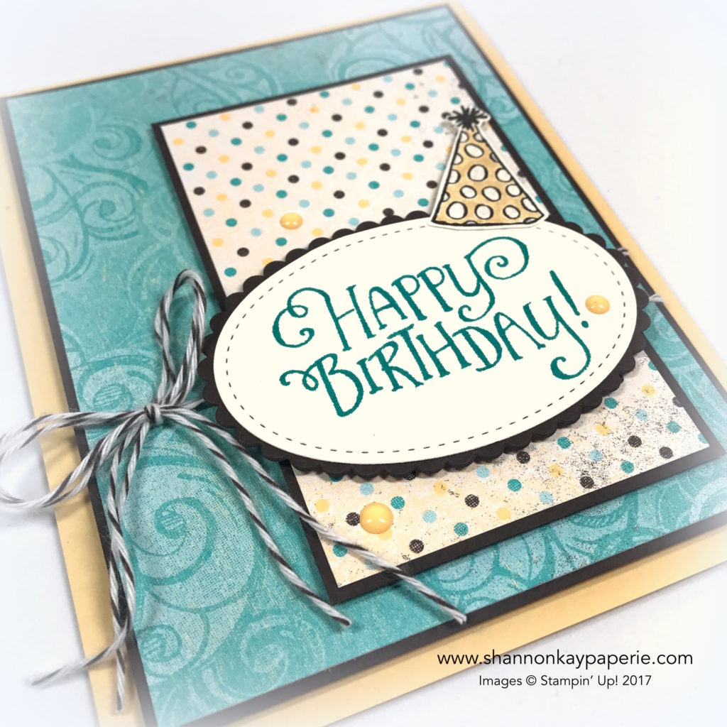 Whimsical Birthday Wishes Birthday Card Idea - Shannon Jaramillo StampinUp