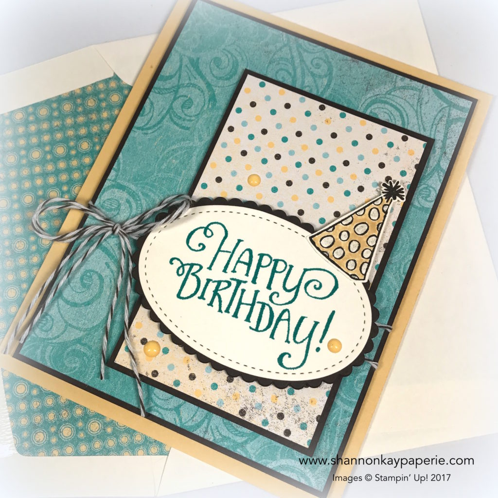 Whimsical Birthday Wishes Birthday Card Ideas - Shannon Jaramillo Stampin Up