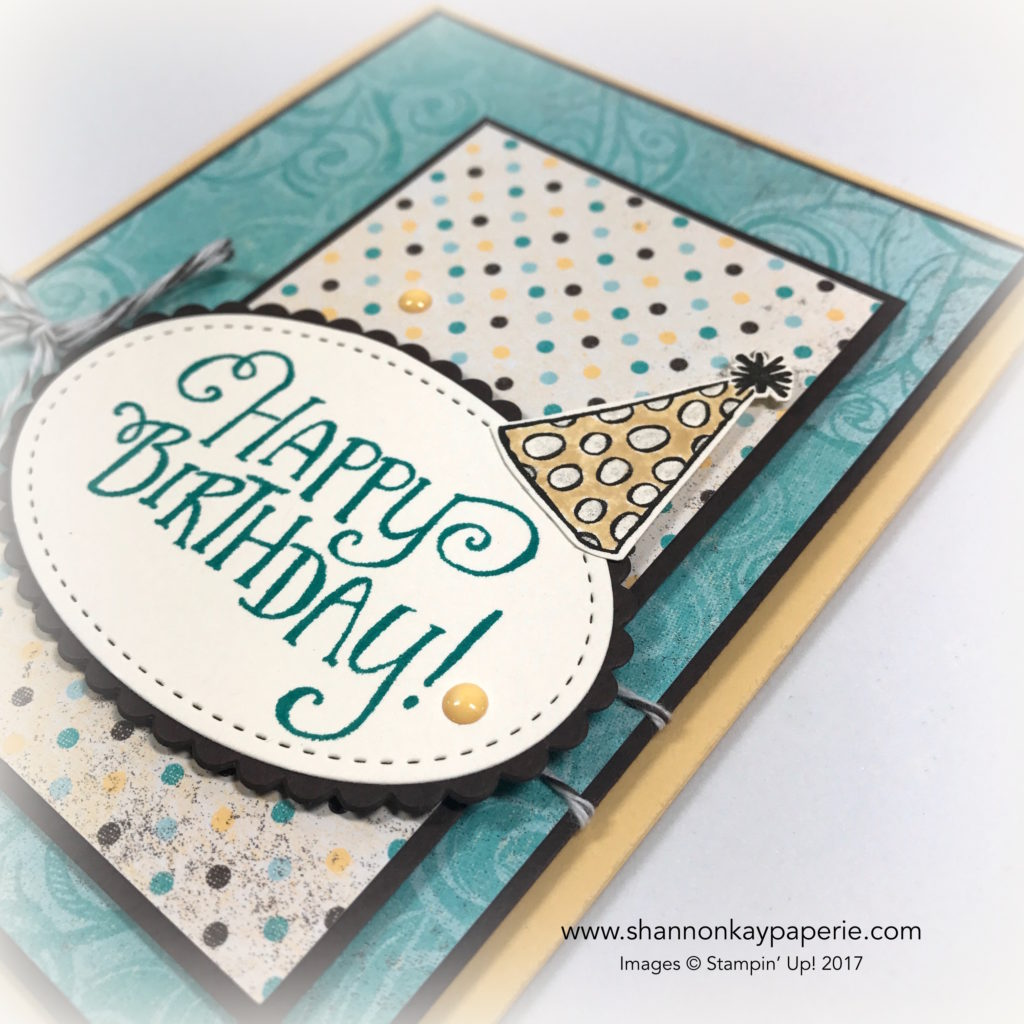 Whimsical Birthday Wishes Birthday Cards Idea - Shannon Jaramillo Stampin Up