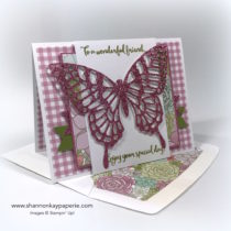 For A Wonderful Friend Birthday Cards Idea - Shannon Jaramillo Stampin Up