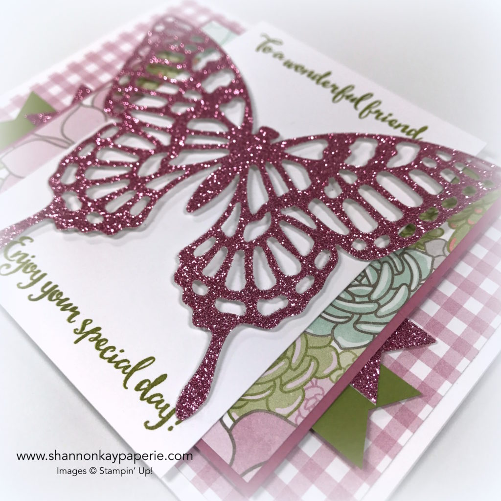 For A Wonderful Friend Birthdays Cards Idea - Shannon Jaramillo Stampin Up