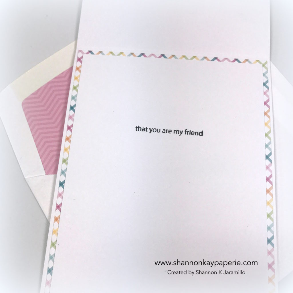 Foratweetfriend card idea - shannon jaramillo shannonkaypaperie