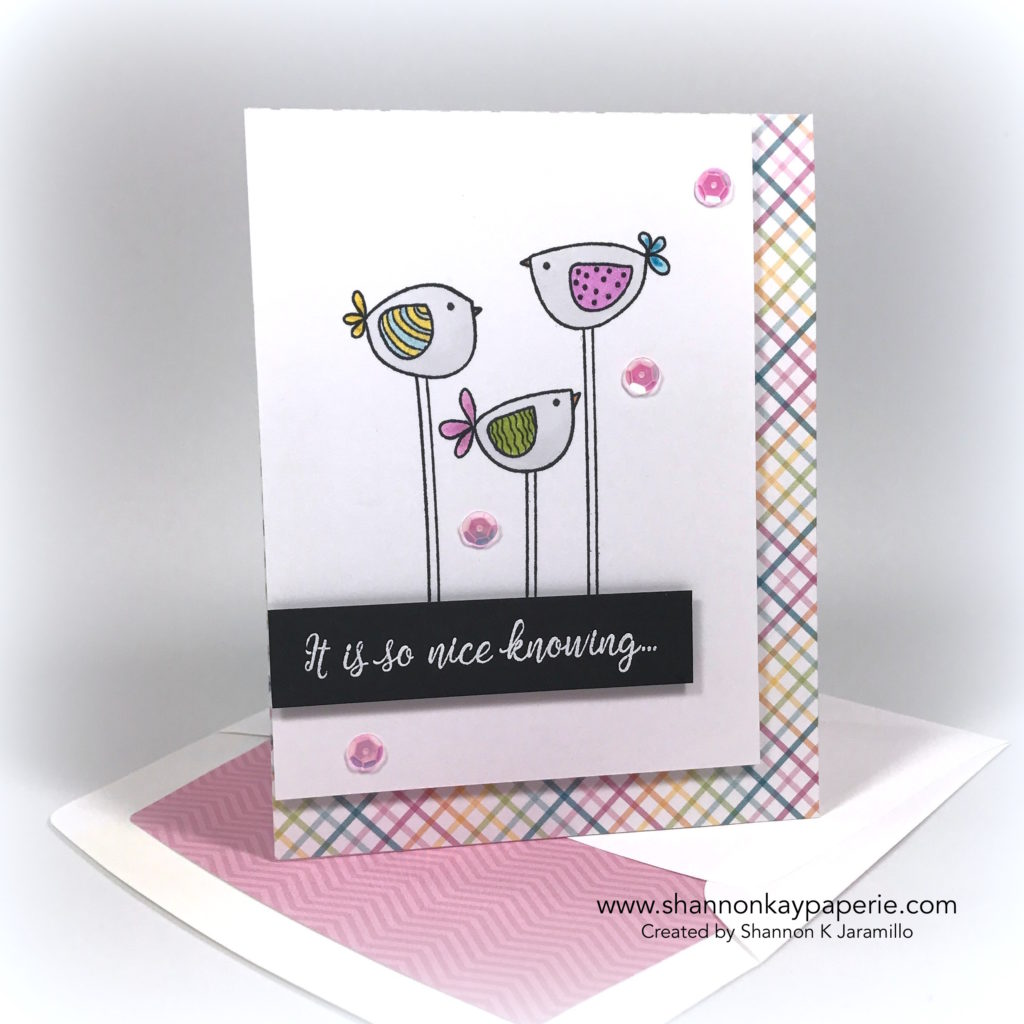 Foratweetfriend card ideas - shannon jaramillo shannonkaypaperie