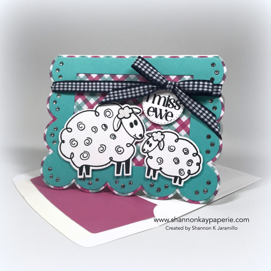 I Miss Ewe Card Ideas - Shannon Jaramillo The Stamps of Life