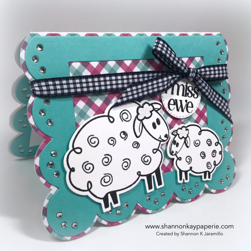 I Miss Ewe Missing You Card Idea - Shannon Jaramillo The Stamps of Life