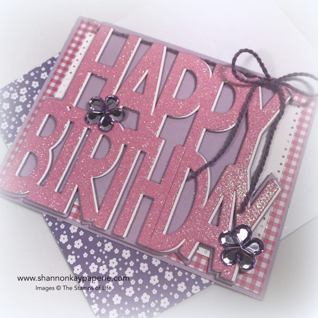 Sunshine Birthday Cards Idea - Shannon Jaramillo Stamps of Life