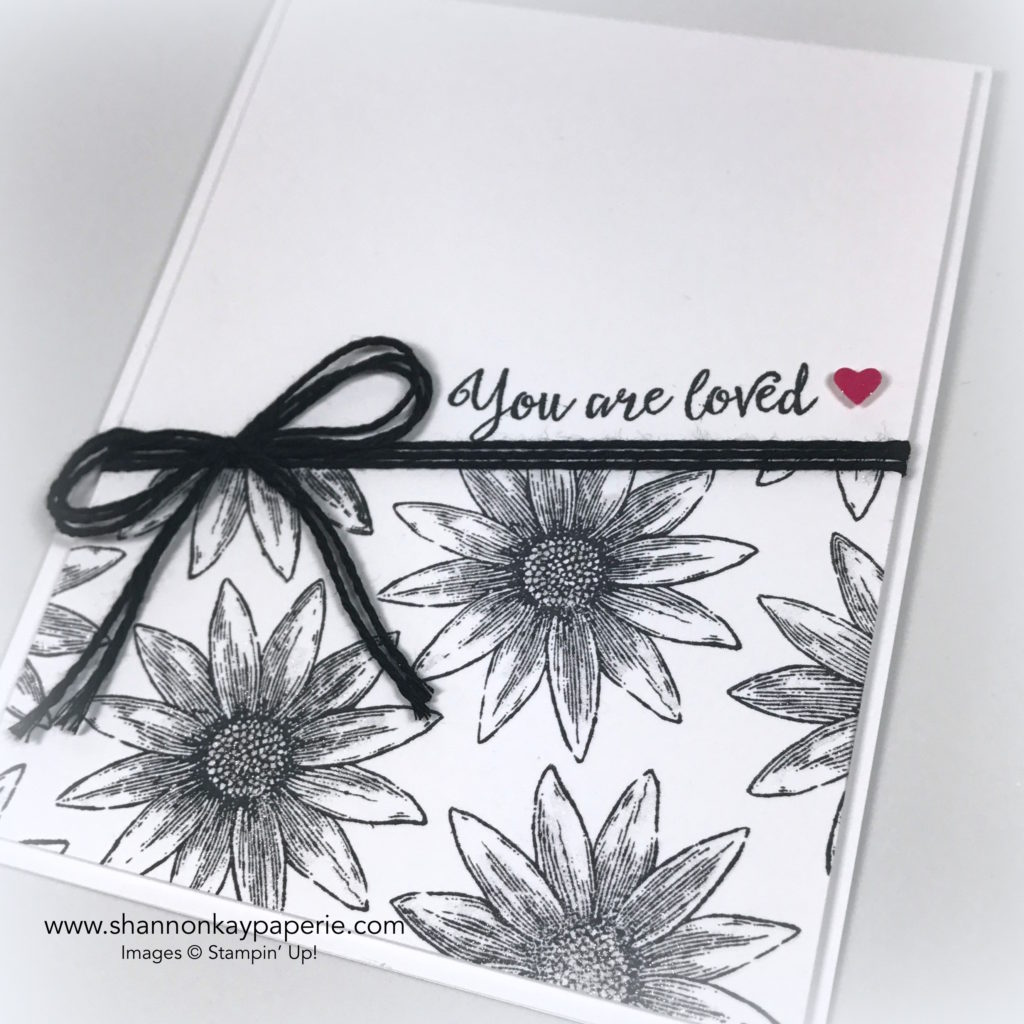 You Are Loved Cards Ideas - Shannon Jaramillo Stampin Up