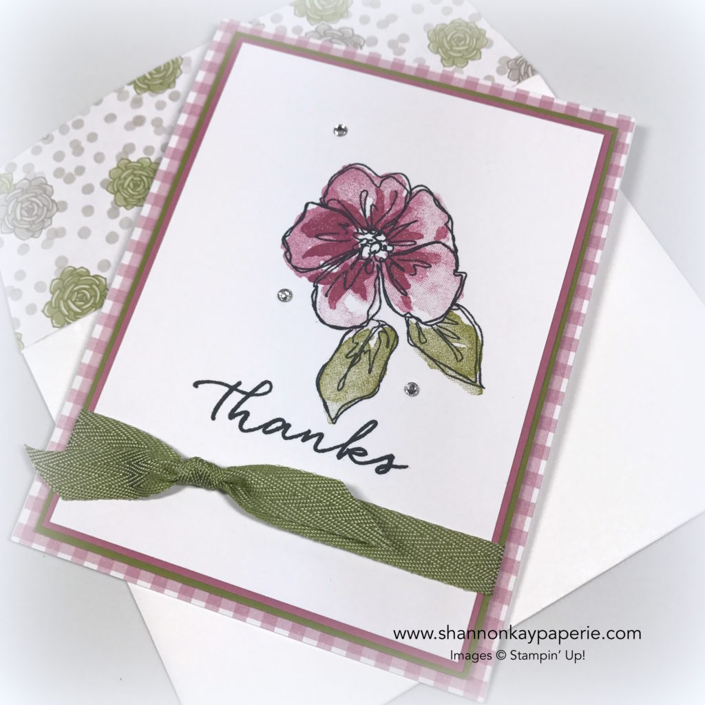 A Sweet Goodbye to Penned & Painted Cards Ideas - Shannon Jaramillo Stampin Up