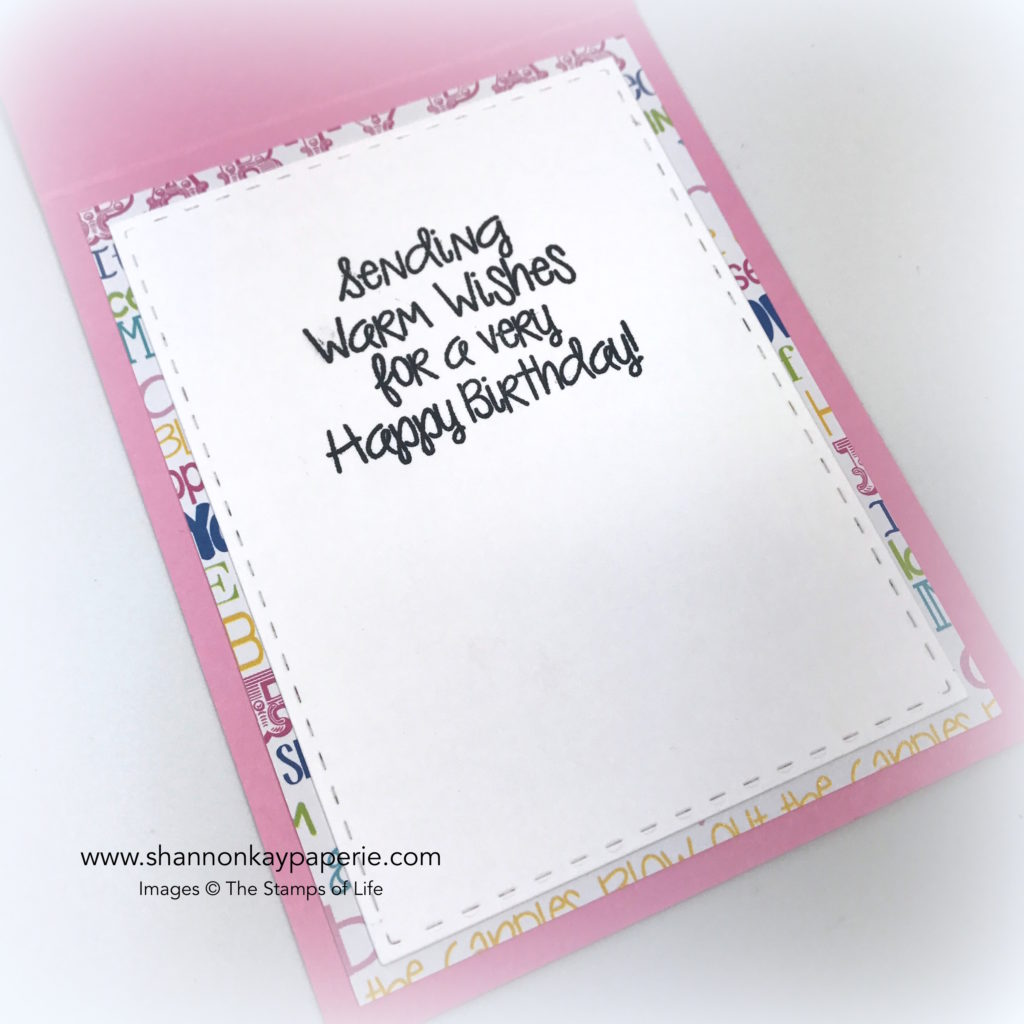 Blow Out the Candles Birthday Cards ideas - Shannon Jaramillo The Stamps of Life