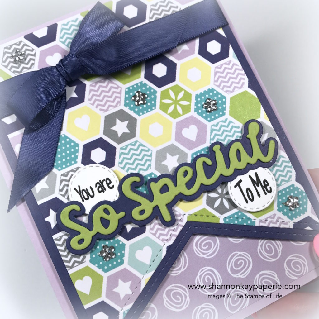 You Are So Special Card Idea - Shannon Jaramillo The Stamps of Life