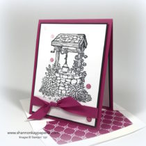 Berry Burst Bright Wishes Card Ideas - Shannon Jaramillo Stampin Up
