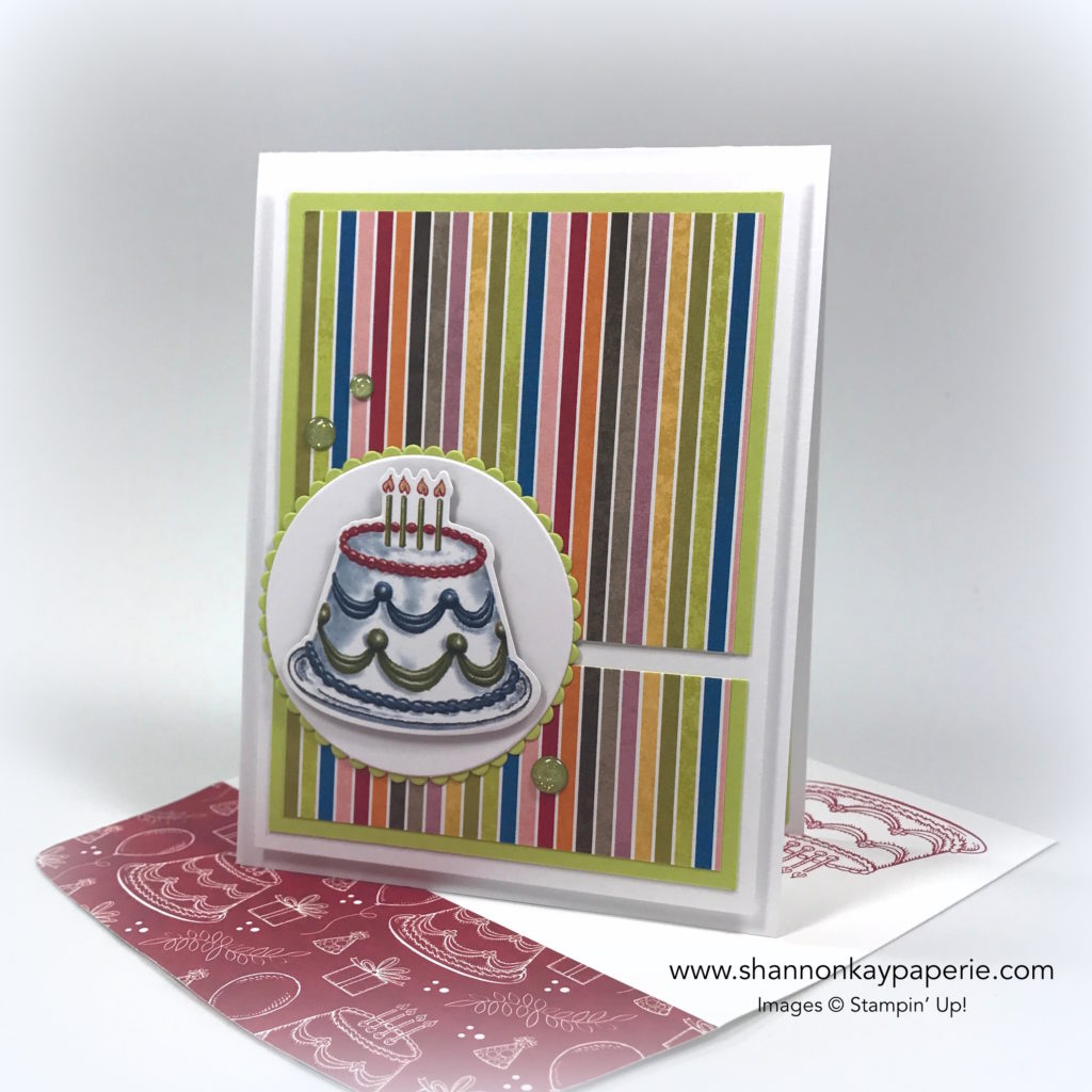 Birthday Memories Birthday Card Ideas - Shannon Jaramillo Stampin Up