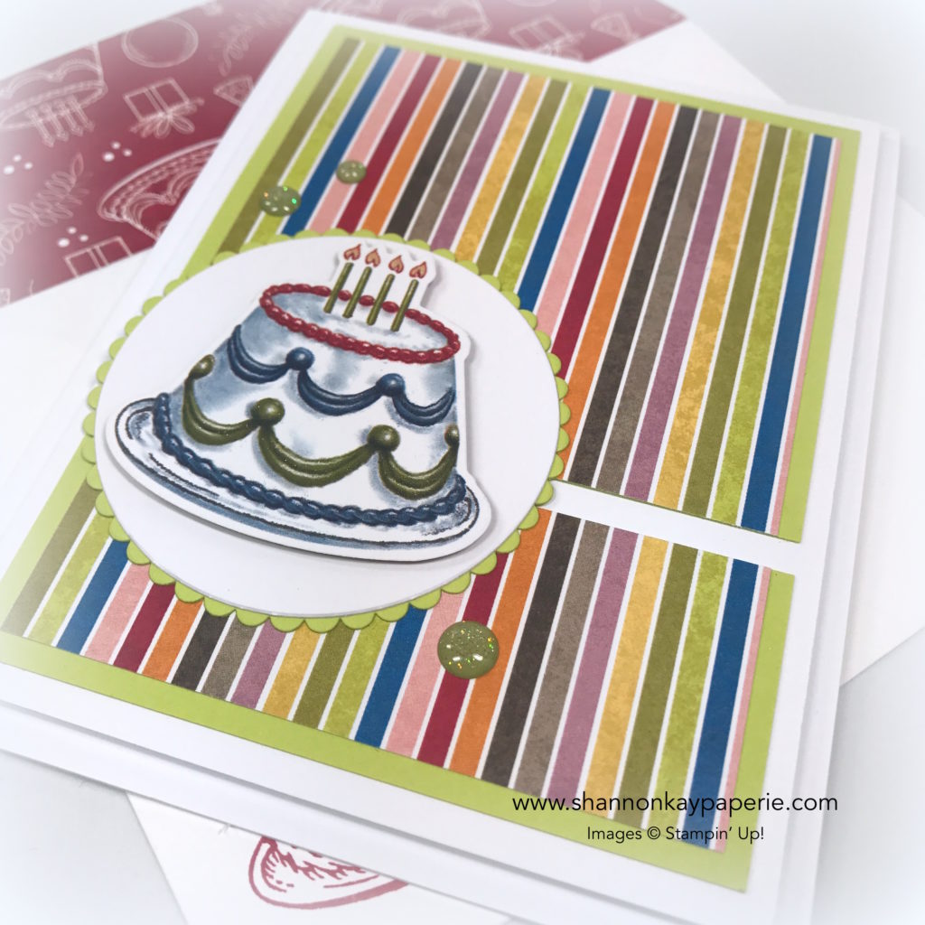 Birthday Memories Birthday Cards Ideas - Shannon Jaramillo Stampin Up
