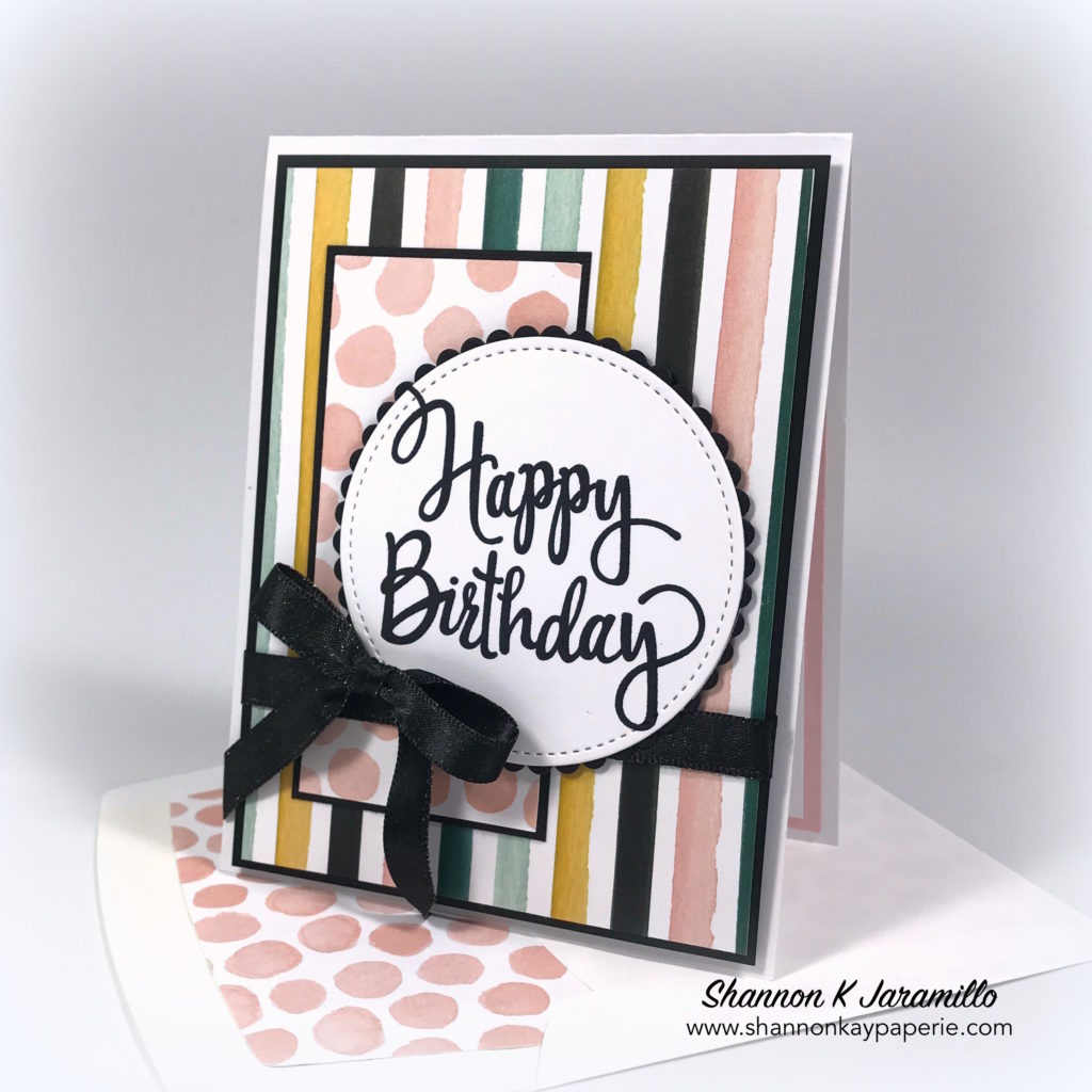Stylized birthday greetings tic tac toe challenge 3 shannon kay stampin up stylized birthday card idea shannon jaramillo bookmarktalkfo Gallery