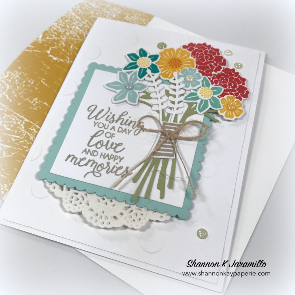 Caseing The Cattie Beautiful Bouquet Shannon Kay Paperie