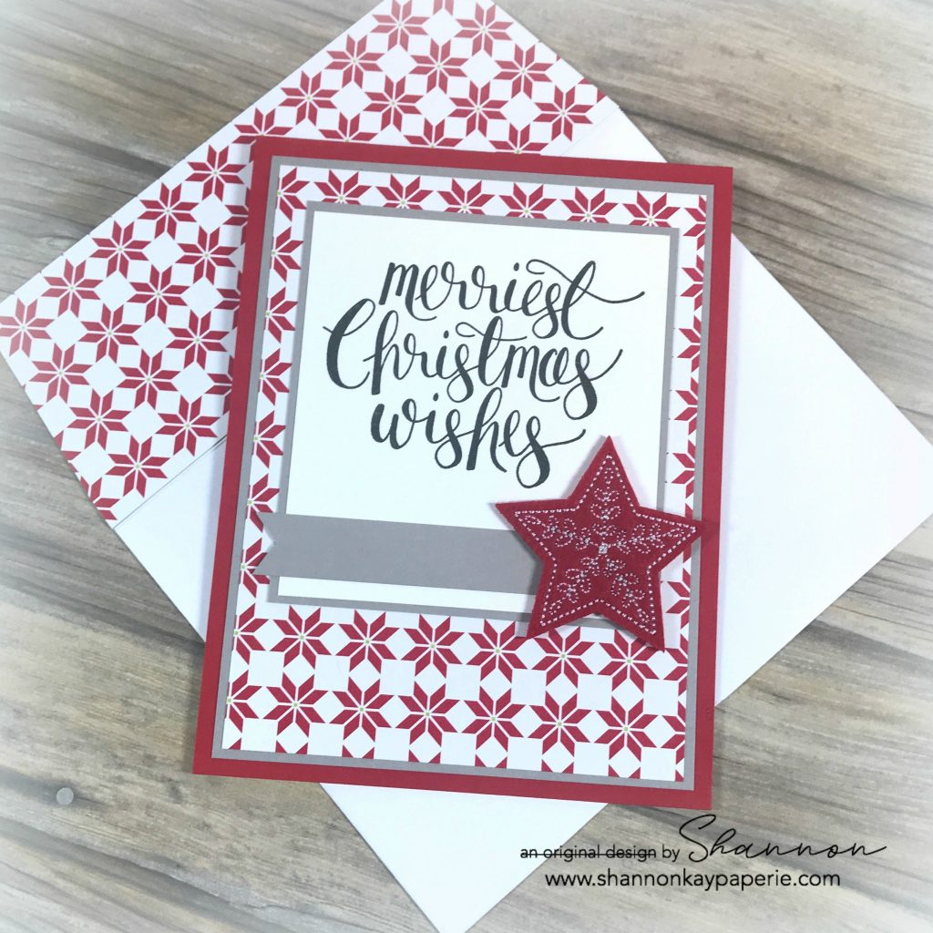 Wrapping Up Christmas Part Iv Quilted Watercolor Christmas Shannon Kay Paperie
